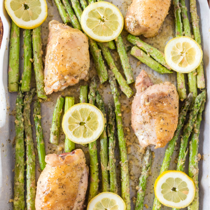 Garlic Butter Sheet Pan Chicken